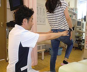 腰痛の施術画像